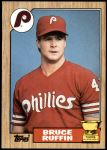 1987 Topps #499  Bruce Ruffin  Front Thumbnail
