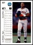 1990 Upper Deck #327  Lou Whitaker  Back Thumbnail