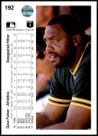 1990 Upper Deck #192  Dave Parker  Back Thumbnail
