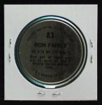 1971 Topps Coins #83  Ron Fairly  Back Thumbnail