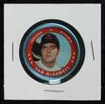 1971 Topps Coins #86  Sam McDowell  Front Thumbnail