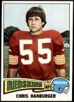 1975 Topps #419  Chris Hanburger  Front Thumbnail