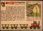 1955 Topps Rails & Sails #115   Grasshopper Type Back Thumbnail