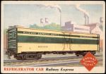 1955 Topps Rails & Sails #103   Refrigerator Car Front Thumbnail