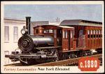 1955 Topps Rails & Sails #47   Forney Locomotive Front Thumbnail
