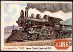 1955 Topps Rails & Sails #1   Locomotive 999 Front Thumbnail