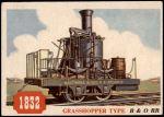 1955 Topps Rails & Sails #115   Grasshopper Type Front Thumbnail