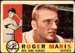 1960 Topps #377  Roger Maris  Front Thumbnail