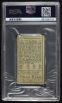 1911 T205  Sherry Magee  Back Thumbnail