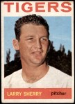1964 Topps #474  Larry Sherry  Front Thumbnail