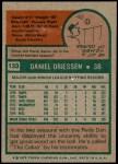 1975 Topps #133  Dan Driessen  Back Thumbnail