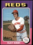 1975 Topps #423  Clay Kirby  Front Thumbnail