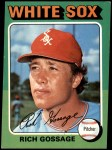 1975 Topps #554  Goose Gossage  Front Thumbnail