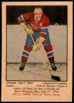 1951 Parkhurst #13  Billy Reay  Front Thumbnail