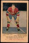 1951 Parkhurst #1  Elmer Lach  Front Thumbnail