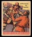 1933 Goudey Indian Gum #177   Struggle to Death  Front Thumbnail