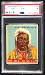 1933 Goudey Indian Gum #158  Hee-Ohks-Te-Kin   Front Thumbnail
