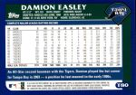 2003 Topps Traded #80 T Damion Easley  Back Thumbnail
