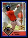 2003 Topps Traded #181 T  -  Hanley Ramirez First Year Front Thumbnail