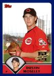 2003 Topps Traded #183 T  -  Dustin Moseley First Year Front Thumbnail