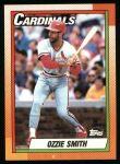 1990 Topps #590  Ozzie Smith  Front Thumbnail
