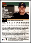 2000 Topps Traded #32 T J.R. House  Back Thumbnail