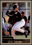 2000 Topps Traded #32 T J.R. House  Front Thumbnail