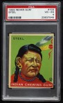 1933 Goudey Indian Gum #103   Steel  Front Thumbnail