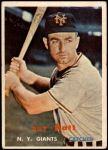 1957 Topps #331  Ray Katt  Front Thumbnail