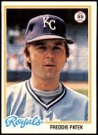 1978 Topps #274  Freddie Patek  Front Thumbnail