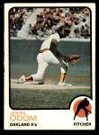 1973 Topps #315  Blue Moon Odom  Front Thumbnail