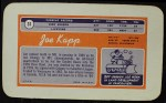 1970 Topps Super #31  Joe Kapp    Back Thumbnail