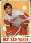 1970 O-Pee-Chee #155  Tom Webster  Front Thumbnail