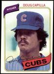 1980 Topps #628  Doug Capilla  Front Thumbnail