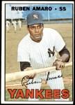 1967 Topps #358  Ruben Amaro  Front Thumbnail