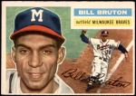 1956 Topps #185  Billy Bruton  Front Thumbnail