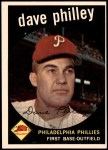 1959 Topps #92  Dave Philley  Front Thumbnail