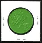 1960 Armour Coins #11 LGR Nellie Fox  Back Thumbnail
