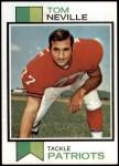 1973 Topps #329  Tom Neville  Front Thumbnail