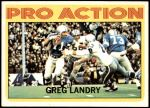 1972 Topps #261   -  Greg Landry Pro Action Front Thumbnail