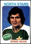 1975 Topps #71  Ernie Hicke   Front Thumbnail