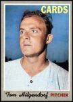 1970 Topps #482  Tom Hilgendorf  Front Thumbnail