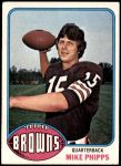 1976 Topps #346  Mike Phipps  Front Thumbnail