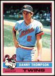1976 Topps #111  Danny Thompson  Front Thumbnail