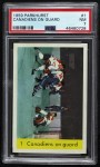 1959 Parkhurst #1  Canadiens on Guard  Front Thumbnail