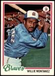 1978 Topps #38  Willie Montanez  Front Thumbnail