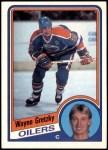 1984 O-Pee-Chee #243  Wayne Gretzky  Front Thumbnail