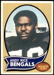 1970 Topps #42  Andy Rice  Front Thumbnail