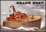1955 Topps Rails & Sails #179   Crash Boat Front Thumbnail