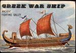 1955 Topps Rails & Sails #156   Greek War Ship Front Thumbnail
